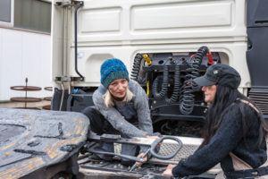 Wiers | Trucks | Maintenance | Service | Women Truckers